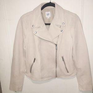 100% Premium Lamb Leather Moto Jacket Size Medium
